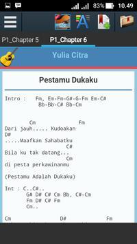 Kunci Gitar Yulia Citra apk screenshot
