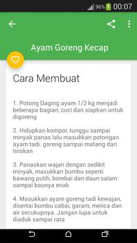 RESEP AYAM LENGKAP apk screenshot
