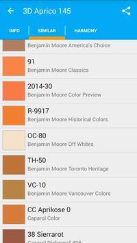 Colors List. Catalog of paints apk screenshot