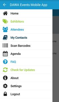 DAWA Events Mobile App poster