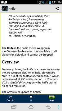 Wiki Guide:Counter Strike apk screenshot