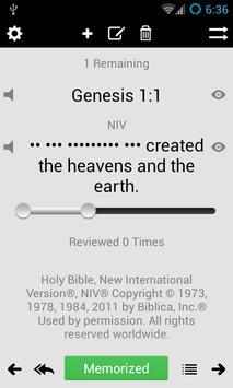 Scripture Verse Memorization apk screenshot
