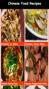 Delicious Chinese Food Recipes apk screenshot