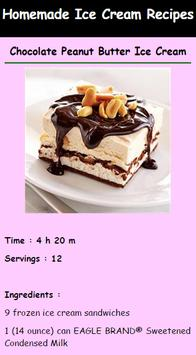 Delicious Ice Cream Recipes apk screenshot