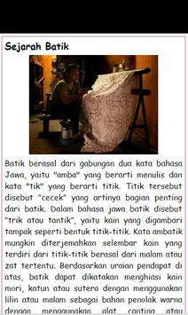 Ensiklopedia Batik Lengkap apk screenshot