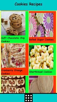 Delicious Cookies Recipes apk screenshot