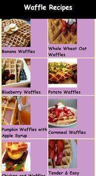The Best Waffles Recipes apk screenshot