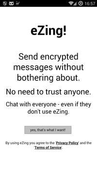eZing poster
