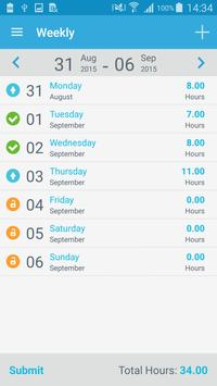 Smart Timesheet apk screenshot