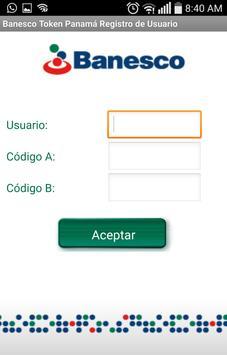 Banesco Token Panamá poster