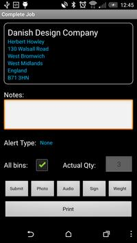 Dataset Trade Waste apk screenshot