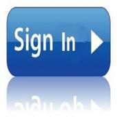 SignIN design icon