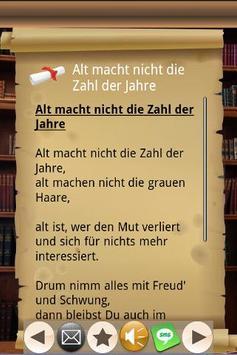 Gedichte für Feste aller Art! apk screenshot