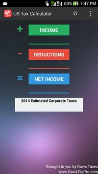 Business Tax Calculator poster