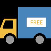 Pizza truck Free icon