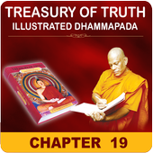 English Dhammapada Chapter 19 icon
