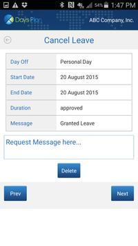 DaysPlan apk screenshot