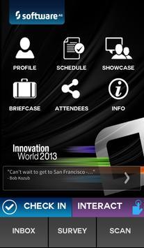 Innovation World 2013 poster