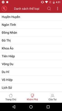 Doc truyen - Truyen Cua Tui apk screenshot