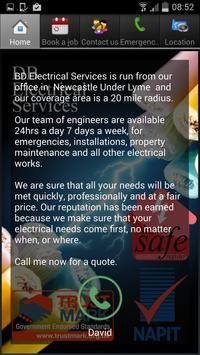 DB Electrical Services apk screenshot