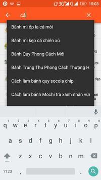 Từ điển món ăn apk screenshot