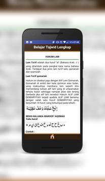 Belajar Tajwid apk screenshot
