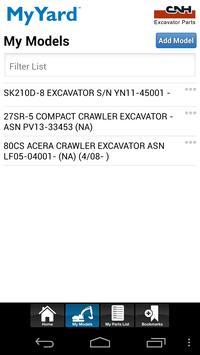 CNH Excavators My Yard™ apk screenshot