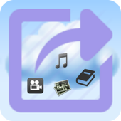 eXportitWeb filesharing & blog icon