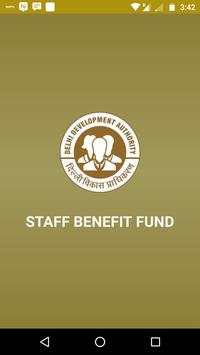 DDA - Staff Benefit fund poster