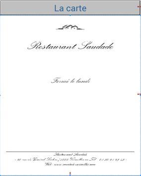 Cartes - Vins et Fromages poster