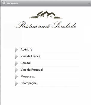 Carte des vins apk screenshot