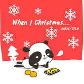 Kakao Talk Theme]Pandi's X-mas icon
