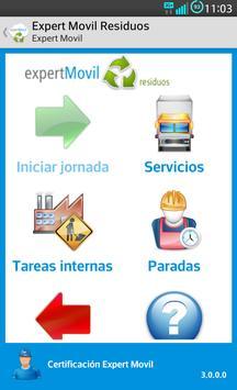 expertMóvil Residuos poster