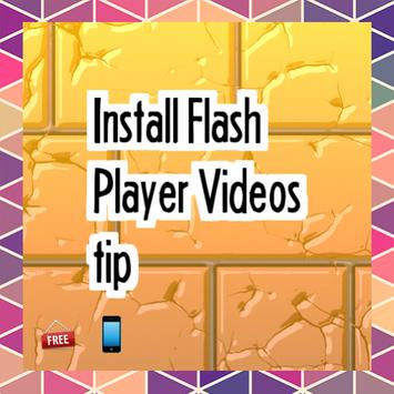 Install Flash Player Video tip poster