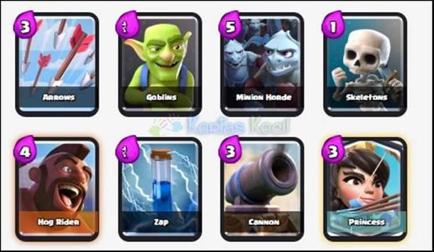 Best Battle Deck Clash Royale apk screenshot