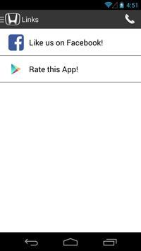 Dean Honda DealerApp apk screenshot