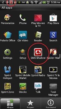 SMS Shadow Phone Tracker apk screenshot