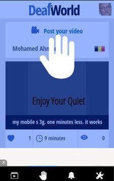 Deaf World DW apk screenshot