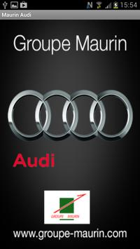 Groupe Maurin Audi poster