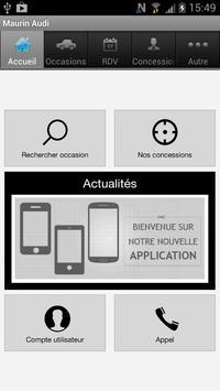 Groupe Maurin Audi apk screenshot