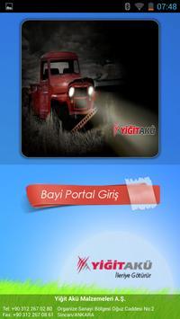 Yiğit Akü - Bayi Portalı poster