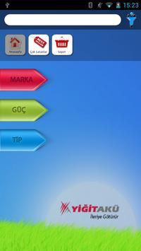 Yiğit Akü - Bayi Portalı apk screenshot