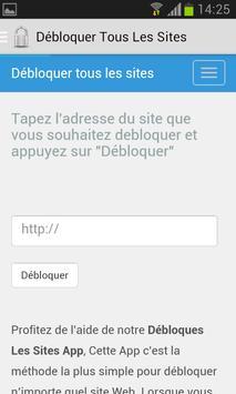 Proxy - HTTP Web Serveur apk screenshot