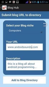 Blog Hub apk screenshot