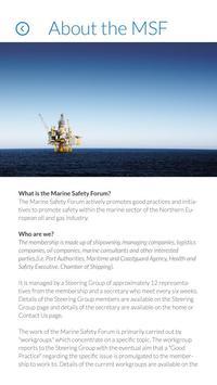 Marine Safety Forum (MSF) apk screenshot
