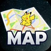 Maps for Pokemon Go Tips icon
