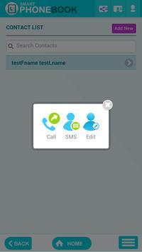 Smart Phonebook apk screenshot