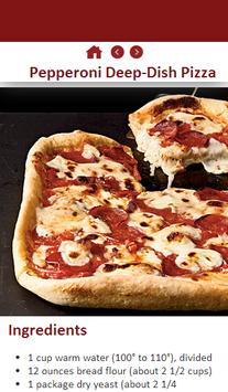 Delicious Pizza Recipes apk screenshot