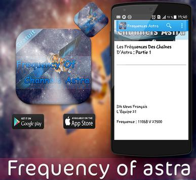 Frequency Of Channels Astra apk screenshot