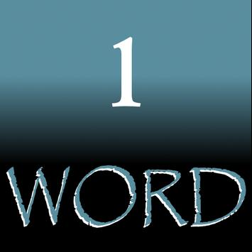 1Word Wearable - (KJV) Bible poster